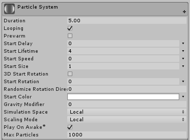 Unity Particle System Tutorial: Circle Motion