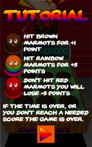 Hit the Marmot - Whack a mole - Tutorial