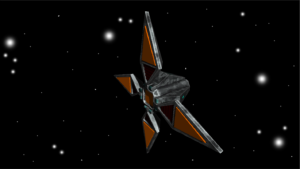 four winged space enemy unity asset octoman 01