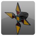 four winged space enemy unity asset octoman icon