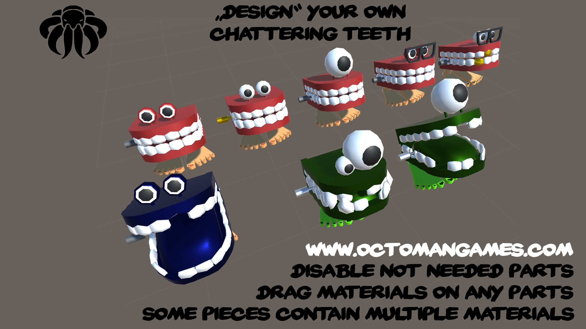 Chattering Teeth Design your own!