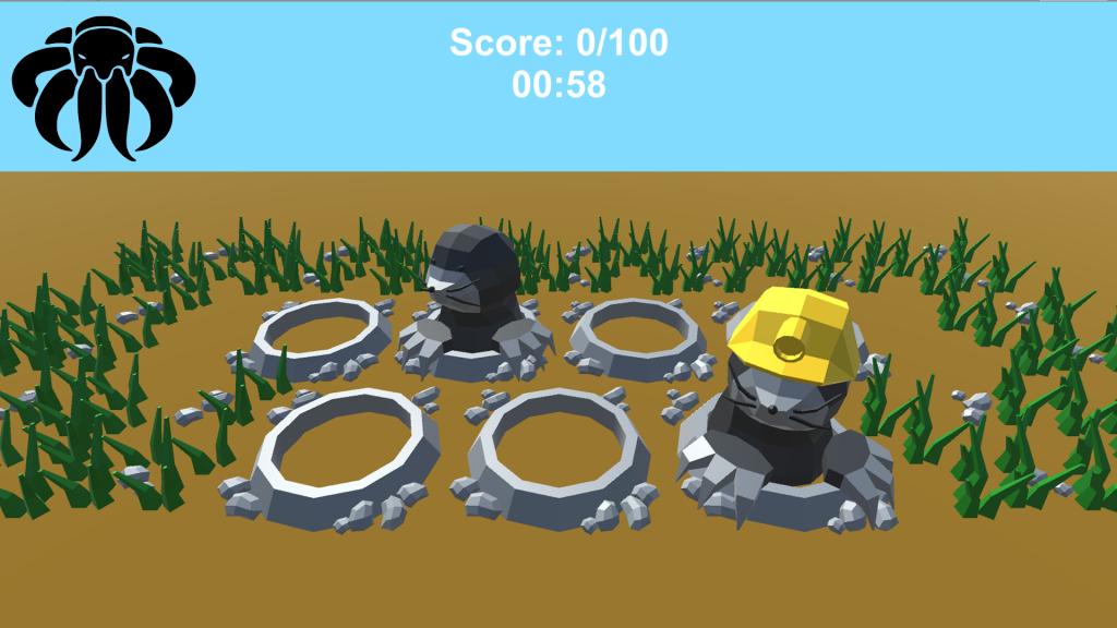 Whack A Mole 3D