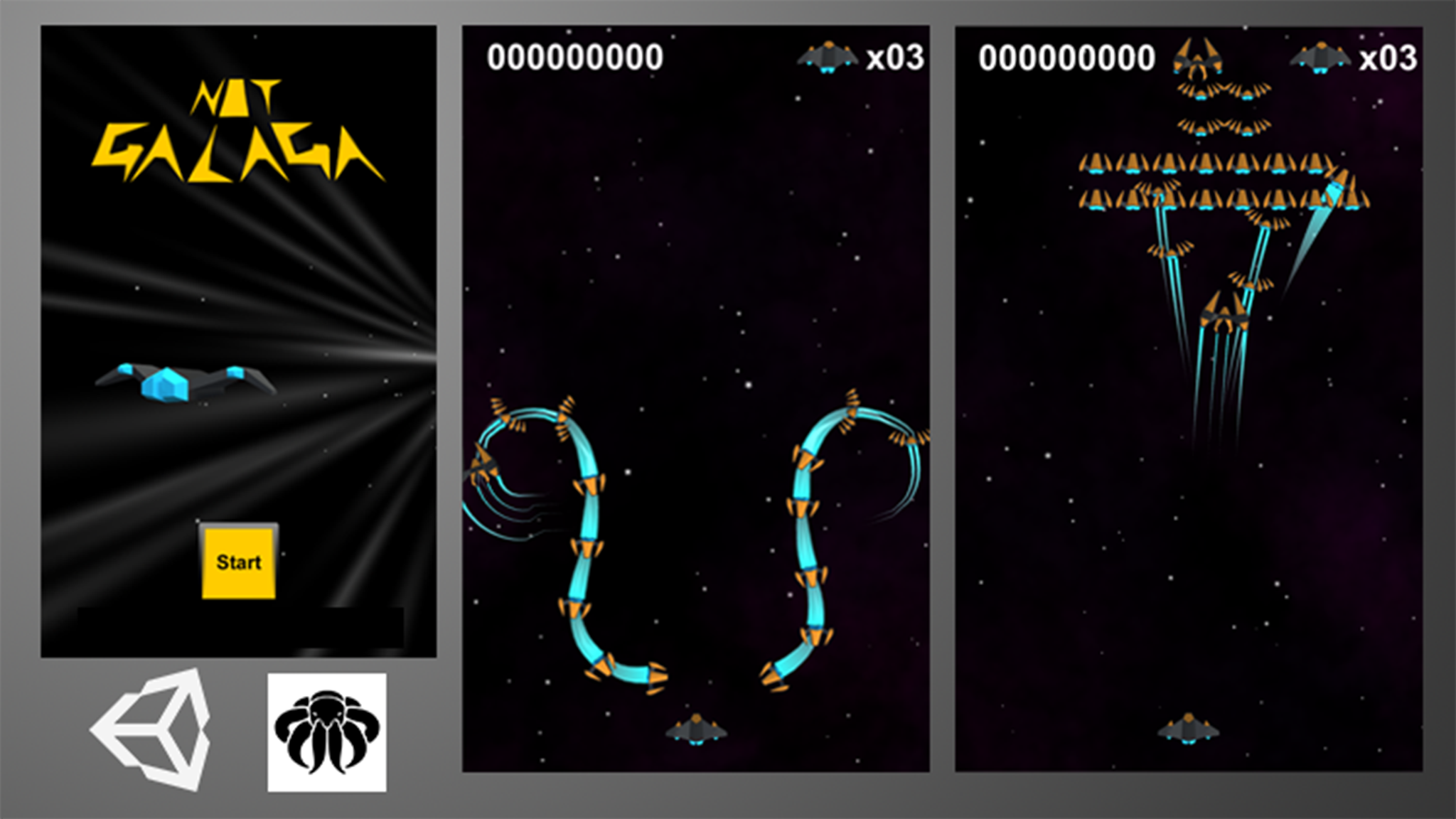 Complete Galaga 3D Pack