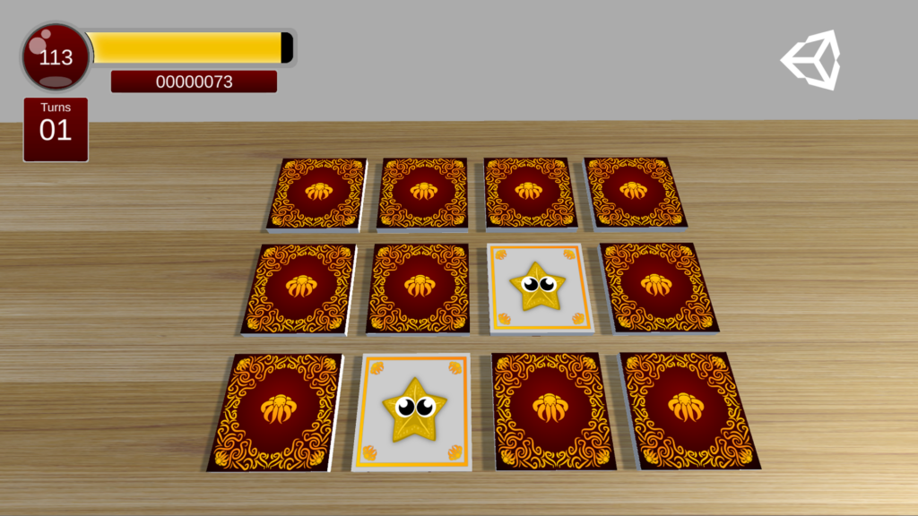 3D Memory Unity Course